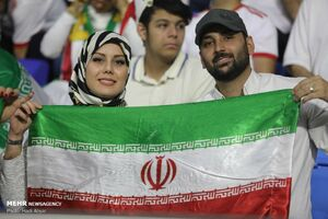 عکس/ دیدار تیمهای ملی فوتبال ایران و عراق