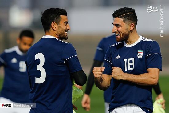 عکس/ آخرین تمرین تیم ملی فوتبال قبل از بازی با عراق