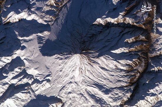 """عکس زیبای ناسا از """"دماوند"""""""
