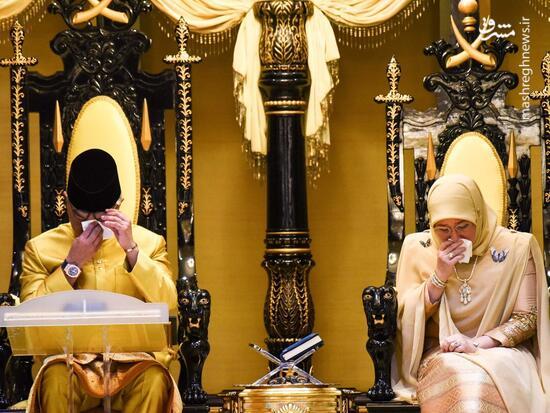 عکس/ سلطان جدید مالزی