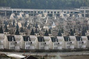 عکس/ قلعههایی ترسناک که روی دست تُرکها ماند!