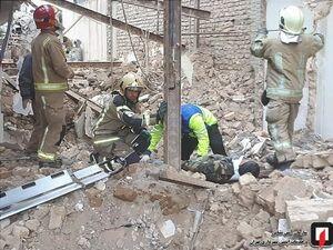 سقوط خونین کارگر از ساختمان قدیمی +عکس