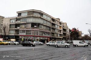 عکس/ بارش باران و تگرگ در تهران