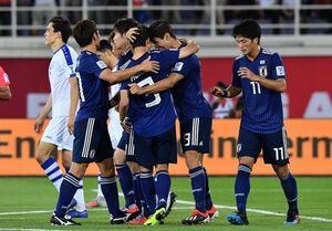صدرنشینی ژاپن با برتری مقابل ازبکستان/ عمان هم صعود کرد