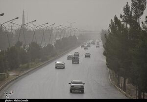 عکس/ گرد و غبار شدید در کرمان