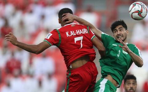 فیلم / جام ملتهای آسیا؛ عمان ۳-۱ ترکمنستان