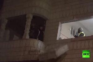 فیلم/ انهدام منزل اسیر فلسطینی در الخلیل!