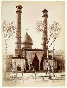 قدیمیترین عکس از حرم حضرت عبدالعظیم