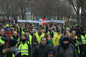 فیلم/ معترضان فرانسوی به خیابانها آمدند