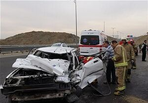 ماجرای تصادف خودروی همراهان نوبخت در جنوب کرمان چه بود؟