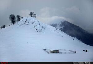 عکس/ طبیعت زمستانی زیبای اسالم