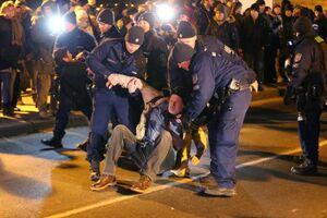 عکس/ تظاهرات ضددولتی درمجارستان