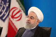 فیلم/ کلافه شدن روحانی از پیامک های تبلیغاتی!