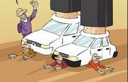 کاریکاتور/ اولتیماتوم وزیر صنعت به خودروسازان