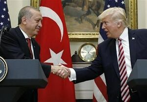 گفتگوی تلفنی ترامپ و اردوغان درباره سوریه