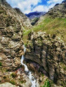 عکس/ آبشاری زیبا در طالقان
