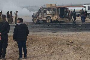 جزئیات غافلگیری کاروان نظامیان ائتلاف غربی در جنوب استان حسکه سوریه/ کشته و زخمی شدن 5 نظامی آمریکایی + نقشه میدانی