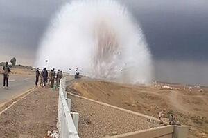 فیلم/ موج وحشتناک حاصل از انفجار!