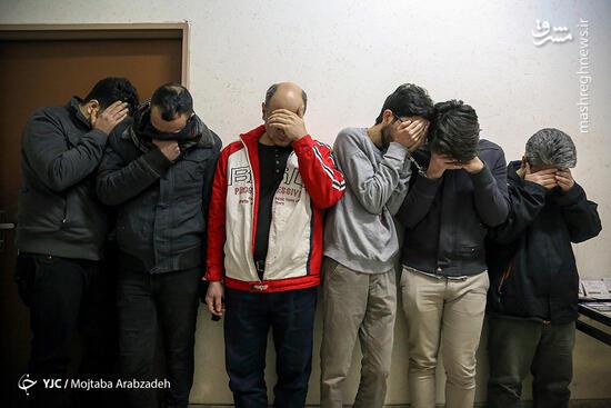 عکس/ بازداشت باند جعل اسناد و مدارک دولتی