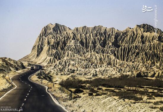 عکس/ کوههای مریخی چابهار