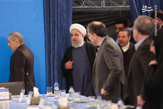 عکس/ دیدار روحانی با وزیر و مدیران ارشد وزارت ارتباطات