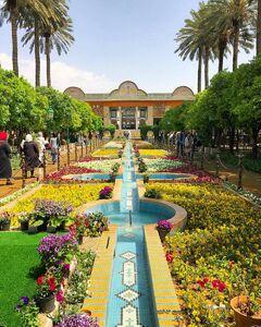 عکس/ باغی زیبا در شیراز