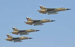 سقوط جنگنده میراژ ارتش مغرب+عکس
