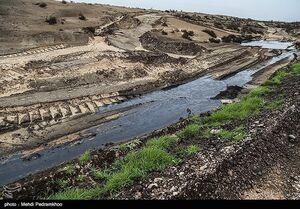 عکس/ نابودی طبیعت به بهانه مقابله با ریزگردها !