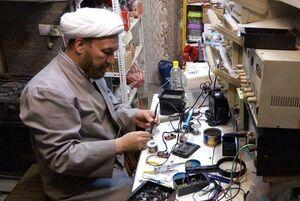 امام جماعت مسجد خاتم(ص) و مخترع