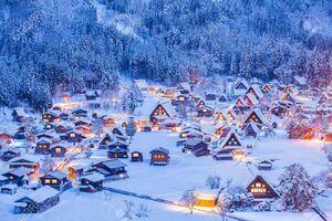 عکس/ پربرف ترین روستای دنیا
