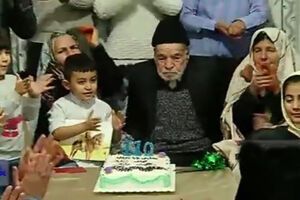 فیلم/ جشن تولد حاجی بابای 110 ساله!