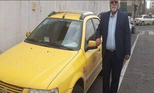 روایتی از زندگی متفاوت یک راننده تاکسی +عکس