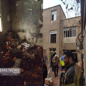 عکس/ انفجار خونین کارگاه ترقهسازی در تهران