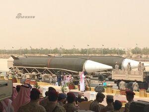 عربستان کارخانه موشک بالستیک ساخته است+عکس
