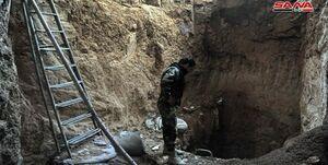 کشف تونلی بزرگ در داریا+عکس