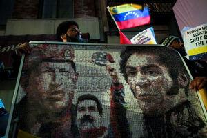 تجمع حامیان «مادورو» در نیویورک