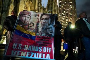 لاشخورهای واشنگتنی در آسمان ونزوئلا