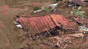 تصاویر هوایی پس از شکستن سد در برزیل