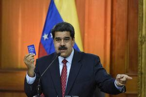 کنفرانس خبری رئیس جمهور ونزوئلا