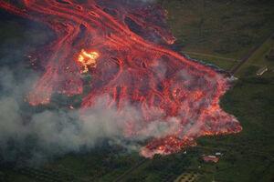 فیلم/ فوران وحشتناک آتشفشان هاوایی