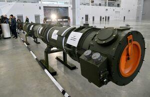 عکس/ رونمایی از جدیدترین موشک ارتش روسیه