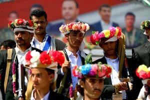 عکس/ جشن ازدواج فرزندان شهدا در یمن
