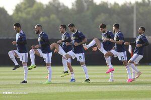 عکس/ نمایی از ورزشگاه دیدار ایران - ژاپن