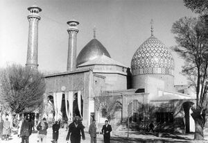 عکس/ حرم شاهعبدالعظیم ، ۷۵ سال قبل