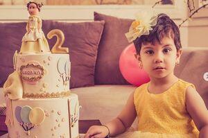 تبریک تولد بیرانوند به دخترش از راه دور +عکس