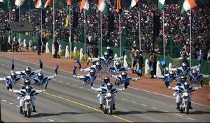عکس/ رژه نظامی روز ملی هند