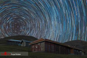 عکسی بینظیر از آسمان گیلان