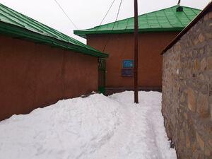 """عکس/ کوچههای برفی روستای """"جی"""""""