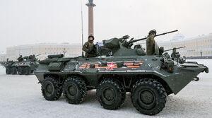 عکس/ رژه نظامی در سنپترزبورگ