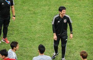 تمرین مفرح ژاپنیها قبل از بازی با ایران